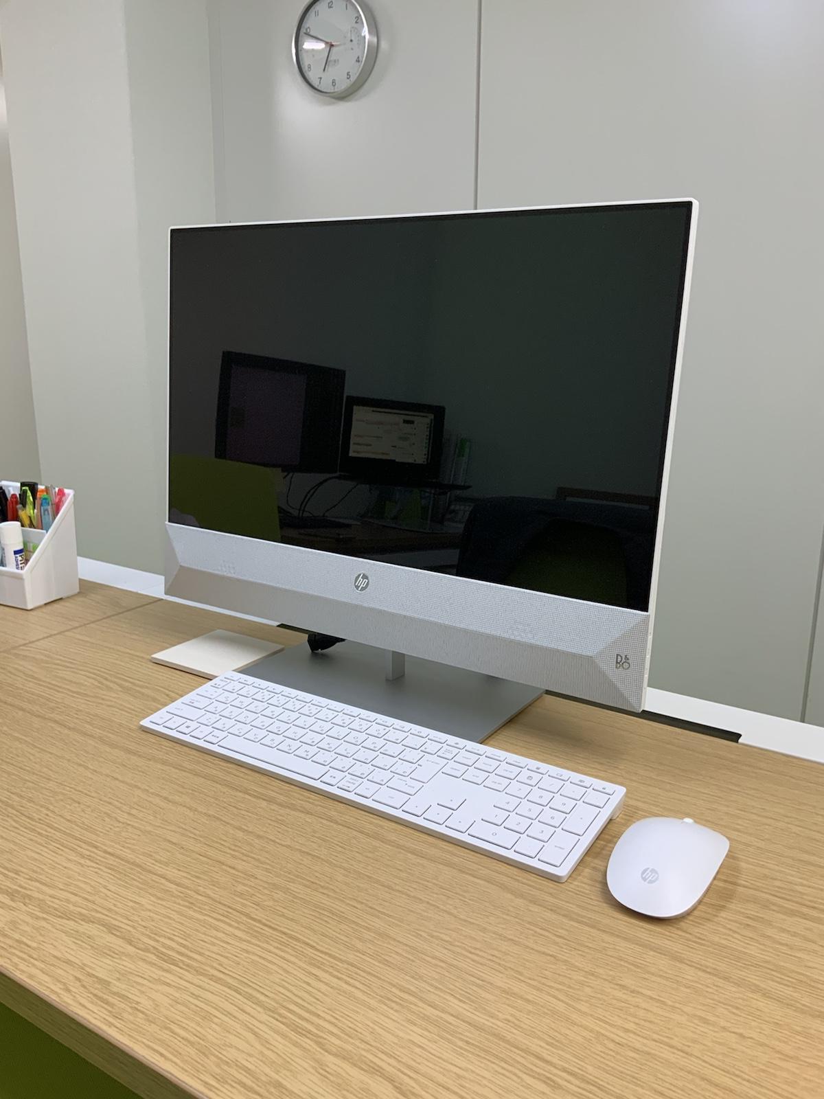 ヒューレットパッカードの一体型パソコン